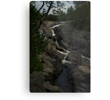 White Sands waterfall Northern Ontario Metal Print