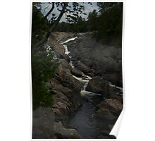 White Sands waterfall Northern Ontario Poster