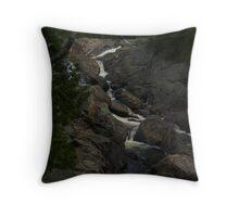 White Sands waterfall Northern Ontario Throw Pillow
