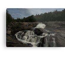 White Sands waterfall (2) Northern Ontario Metal Print