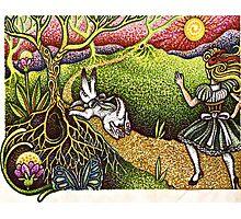 "Alice Before the ""Rabbit Hole"" Photographic Print"