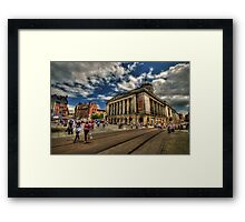 Nottingham Town Hall Framed Print