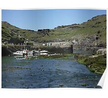 Boscastle Harbour - After the destruction Poster