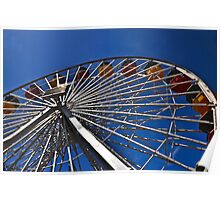 """"""" First love on a Ferris Wheel """" Poster"""