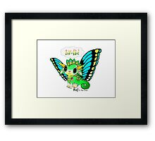 Poof the Magic Dragon Baby  Framed Print