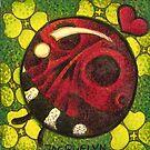 Good Luck Ladybug ( Lucky Ladyskull ) by Jacquelyn Braxton