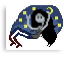 Pixel night Marceline Canvas Print