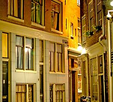 Amsterdam at Night by Danielle Girouard