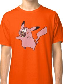 Courage VS Pikachu Classic T-Shirt