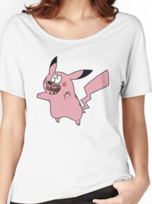 Courage VS Pikachu Women's Relaxed Fit T-Shirt