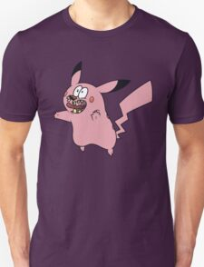 Courage VS Pikachu T-Shirt