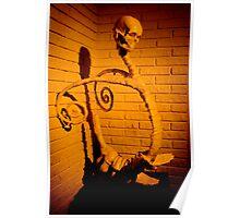 skull sculpture Poster