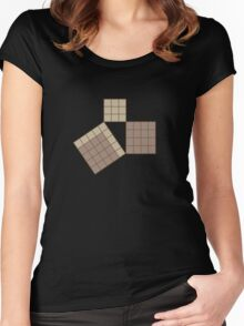 pythagoras Women's Fitted Scoop T-Shirt