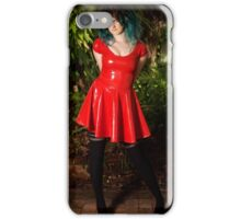 Bec - Red PVC iPhone Case/Skin