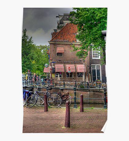 Cafe Hans En Grietje Poster