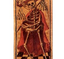 DEATH - TAROT CARDS by vintageposters
