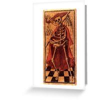 DEATH - TAROT CARDS Greeting Card