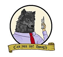 Frederick the Corporate Wolf Photographic Print