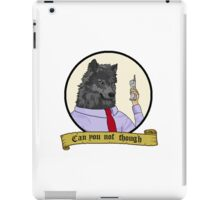Frederick the Corporate Wolf iPad Case/Skin