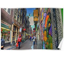 Graffiti Alley Poster