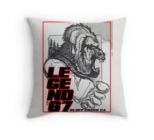 Legend of 67 Original Throw Pillow