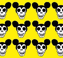 Mickey Mouse' Skulls by Boommm ART