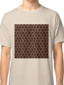 Brown Sketch Circle Classic T-Shirt