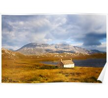 Autumn in the Highlands. Poster