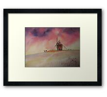 The Mill of Moidrey - The end of a busy day Framed Print