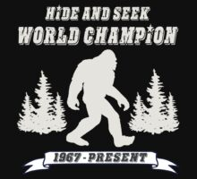 Hide and Seek World Champion Dark Tee One Piece - Short Sleeve