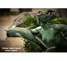 Trafalgar Square Exposed Photographic Print