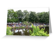 Boston 4th of July Crowd Greeting Card