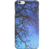 Trees at night iPhone Case/Skin