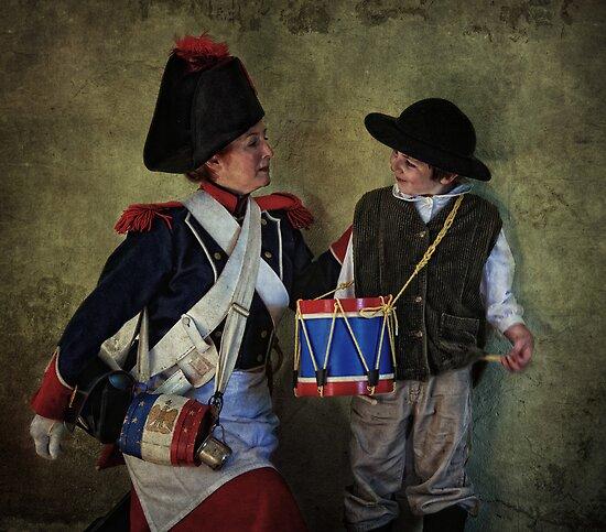 The Little Drummer by Mel Brackstone.com