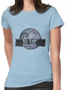 jurassic world blue raptor Womens Fitted T-Shirt