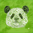 Swirly Panda by . VectorInk