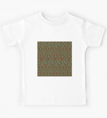 Alphabet and Number Pattern Kids Tee