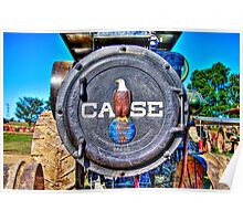 J.I.Case Threshing Machine Co Poster