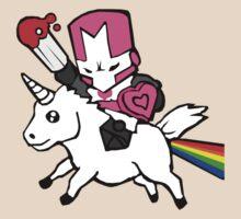 Pink knight unicorn by MattTuxford