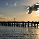 Early Morning at Urangan Pier by Kym Howard
