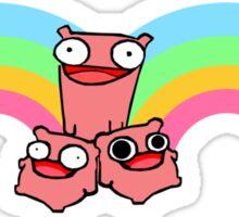 Pink Knight- Castle Crashers Sticker