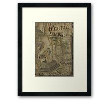Electro Swing Framed Print