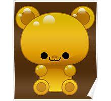 Yellow Gummy bear Poster