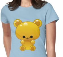 Yellow Gummy bear Womens Fitted T-Shirt