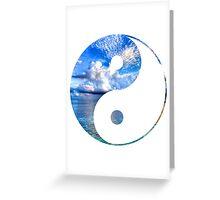 Yin-Yang Greeting Card