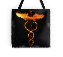 Fiery Caduceus by Pierre Blanchard Tote Bag