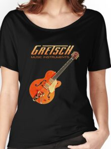 Cool Gretsch  Women's Relaxed Fit T-Shirt