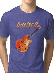 Cool Gretsch  Tri-blend T-Shirt