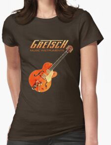 Cool Gretsch  Womens Fitted T-Shirt