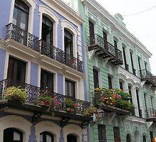 Beauty of Viejo San Juan by Swan Diaz